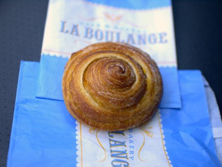 morning bun, la boulange