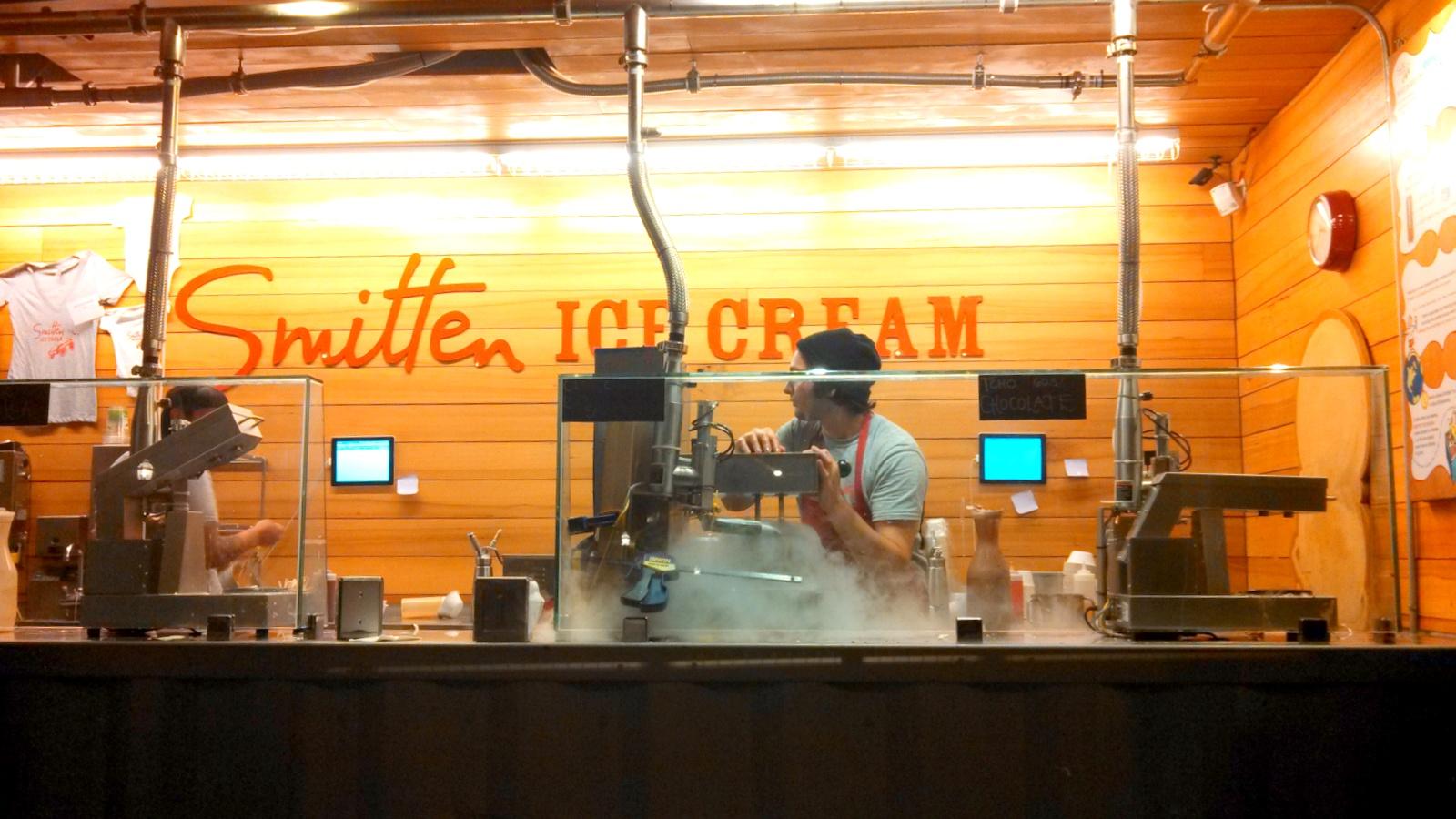 Liquid Nitrogen Cafe Latte Nyc
