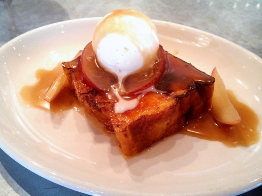 brioche bread pudding, boxing room