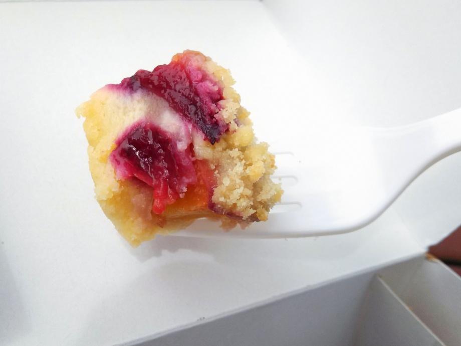 nectarine berry tart, la boulange