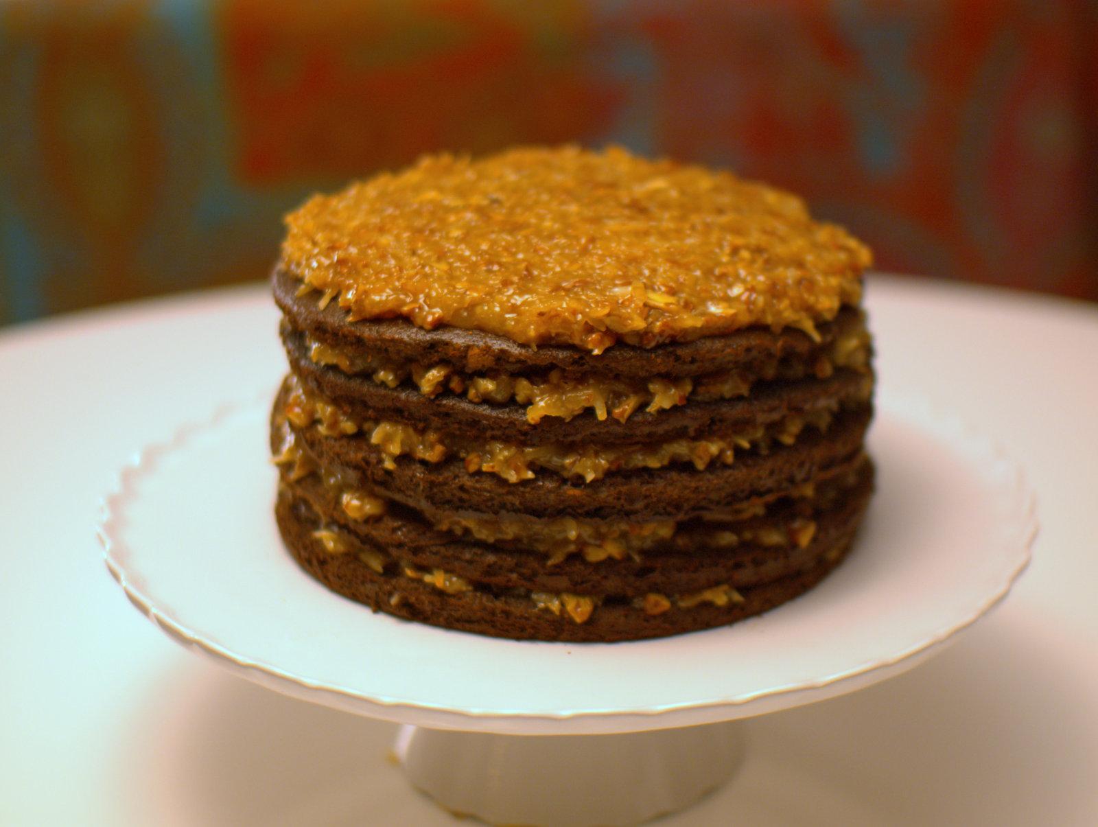Bakers Bar German Chocolate Cake Recipe