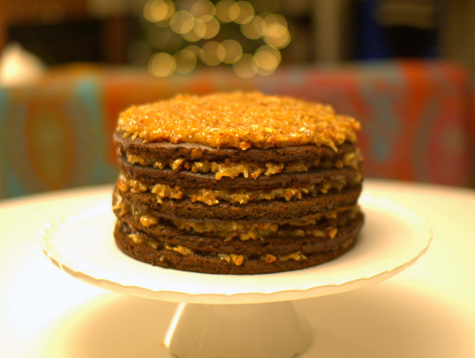Bakers German Chocolate Cake High Altitude Recipe