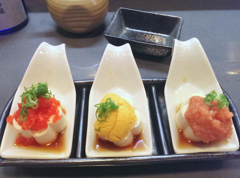 tofu temptation, izakaya kou