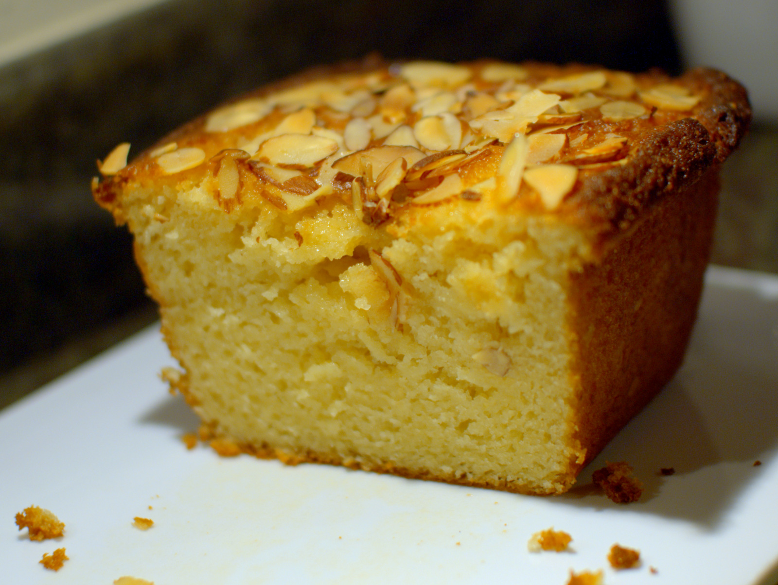 almond cake with orange flower almond cake w orange flower almond cake ...