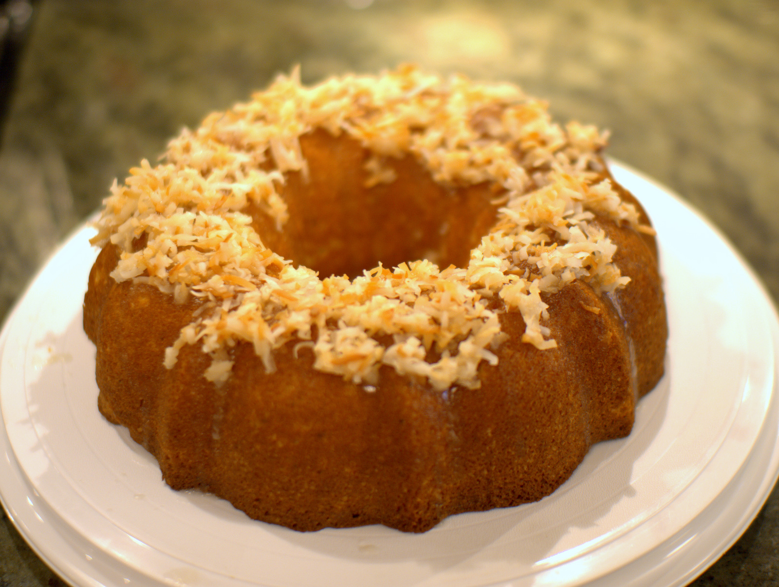 Key Lime Bundt Cake With Cream Cheese Frosting Recipe